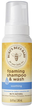 Burt's Bees Baby Shampoo & Wash Foaming