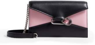 Alexander McQueen Leather Pin Wallet Bag