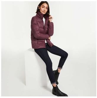 Joe Fresh Women's Puffer Jacket with PrimaLoft, Burgundy (Size XS)
