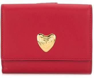 Escada heart plaque purse