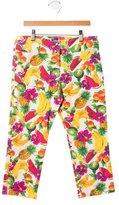 Dolce & Gabbana Girls' Fruit Print Pants