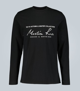 Martine Rose Long-sleeved T-shirt