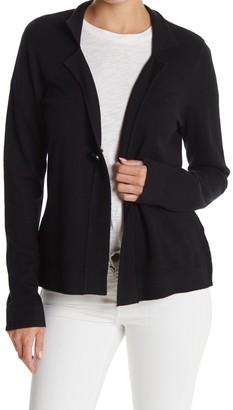 Cyrus Notch Collar Sweater Blazer