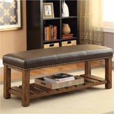 Asstd National Brand Jenner Rustic Bench