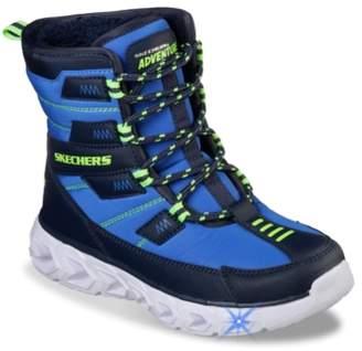 Skechers S Lights Hypno Flash 2.0 Light-Up Snow Boot - Kids'