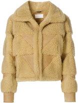 Maison Margiela shearling bomber jacket