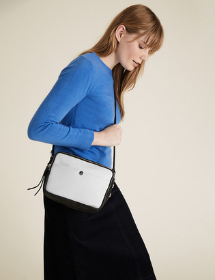Marks and Spencer Faux Leather Cross Body Bag