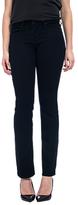 NYDJ Marilyn Straight Leg Jeans, Black Overdye