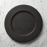 Crate & Barrel Evans Wood Charger Plate