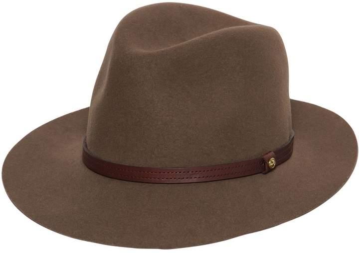 Rag & Bone Rag&bone Floppy Brim Wool Felt Fedora Hat