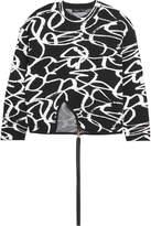 Proenza Schouler Intarsia Wool-blend Sweater - Black
