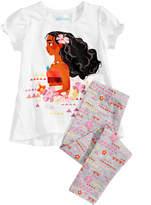 Disney 2-Pc. Moana T-Shirt & Leggings Set, Little Girls