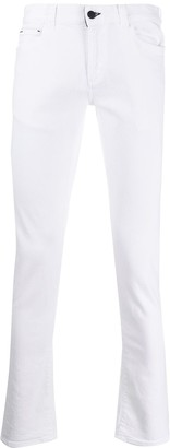 Canali Mid-Rise Skinny Jeans