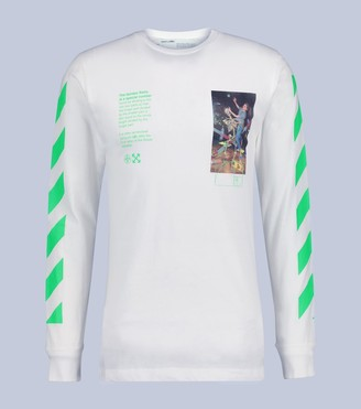 Off-White Off White Pascal painting long-sleeved T-Shirt
