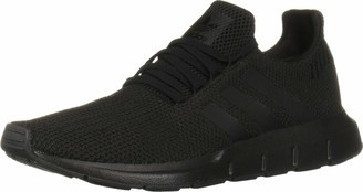adidas Men's Swift Run Fashion Sneakers Core Black/Core Black/Footwear White 11.5 Regular US