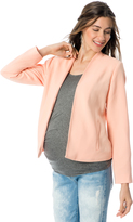 A Pea in the Pod Open Front Crepe Maternity Jacket