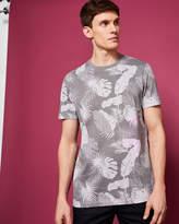 Ted Baker Leaf print cotton Tshirt