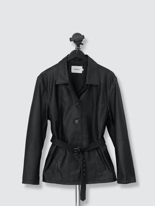 Deadwood Tyra Leather Coat