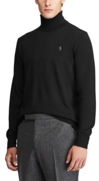 Polo Ralph Lauren Men's Merino Wool Turtleneck Sweater