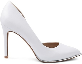 BCBGeneration Harnoy Faux Leather d'Orsay Pumps