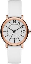 Marc by Marc Jacobs Women's Roxy White Leather Strap Watch 28mm MJ1562
