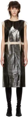 Maison Margiela Black and White Transparent Geo Dress