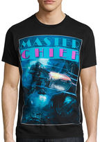 Novelty T-Shirts Halo Master Chief Short-Sleeve Graphic Tee