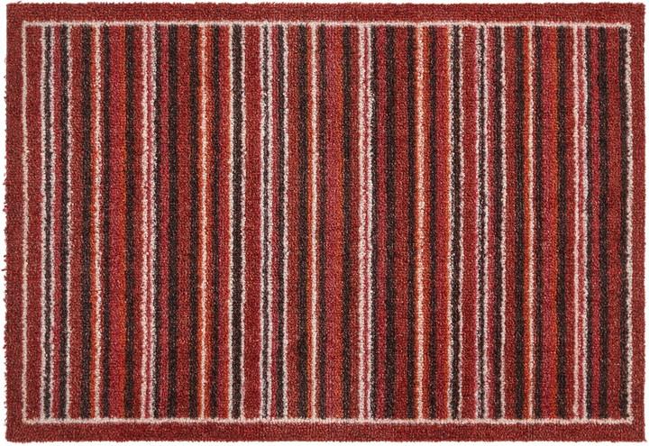 John Lewis & Partners Washable Multi Stripe Door Mat, L50 x W75cm