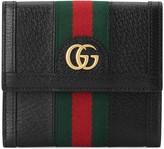 Gucci Ophidia french flap wallet