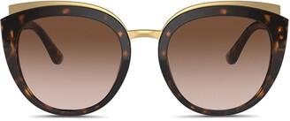 Dolce & Gabbana Eyewear Family cat-eye frame sunglasses