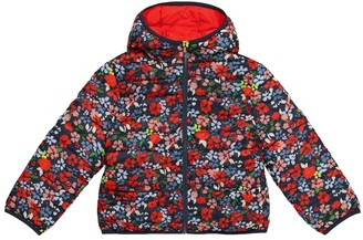 Bonpoint Satina reversible floral puffer jacket