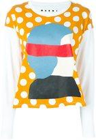 Marni 'Dawn' longsleeved T-shirt