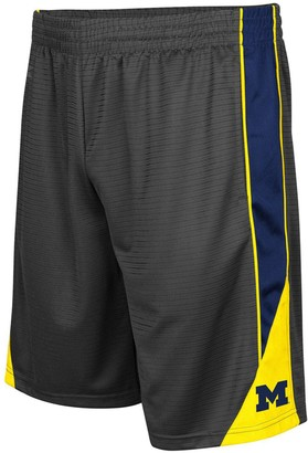 Colosseum Men's Charcoal Michigan Wolverines Turnover Shorts