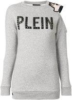 Philipp Plein Love cold shoulder top