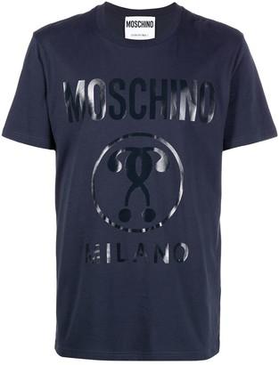 Moschino question mark logo T-shirt