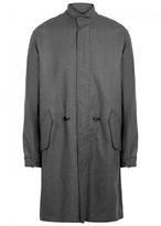 3.1 Phillip Lim Grey Wool Blend Parka