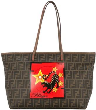 Fendi Pre-Owned Zucca Taiger tote bag