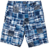 Ralph Lauren 8-20 Straight Cotton Madras Short