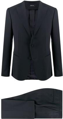 Ermenegildo Zegna Peak Lapel Slim-Fit Suit