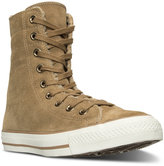 Converse Chuck Taylor X-High-Top Suede + Shearling Casual Sneakers from Finish Line