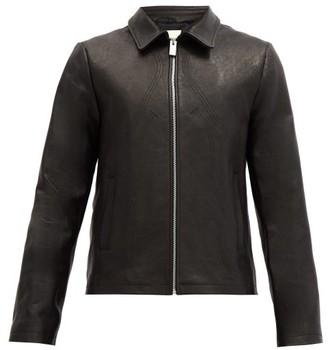 Alyx Leone Western-topstitched Leather Jacket - Black