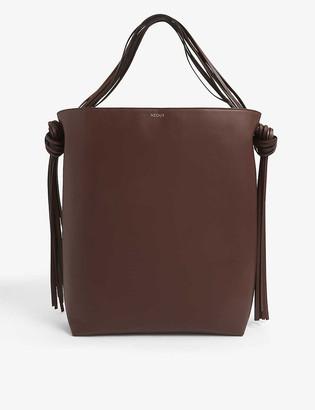 Neous Saturn leather shoulder bag