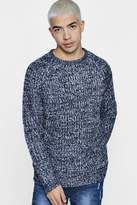 boohoo Brushed Fisherman Cable Knit Jumper