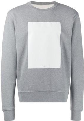 Maison Margiela contrast panel sweatshirt
