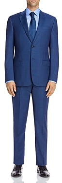 Giorgio Armani Emporio Micro-Check Regular Fit Suit