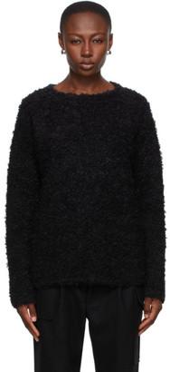Winnie New York Black Mohair Sweater
