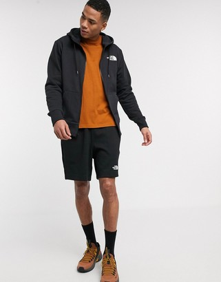 The North Face Half Dome full zip hoodie in black