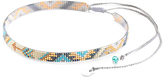 Mishky Turquoise & Blue Track Bead Choker Necklace