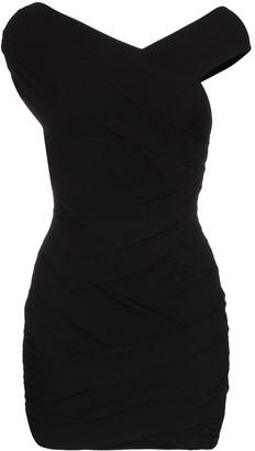 Alexandre Vauthier Off-The-Shoulder Mini Dress