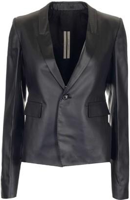 Rick Owens Lapel Collar Soft Jacket